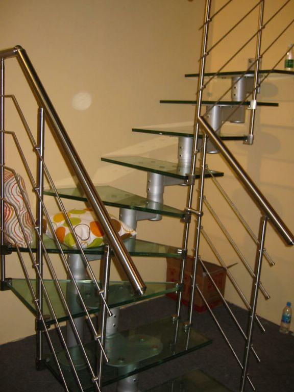 宁波/菲利特钢玻旋转楼梯