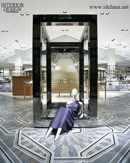 装修设计 实景拍摄图片; 巴尼斯服装; 巴尼斯服装店设计欣赏