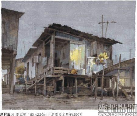 传统民居细部手绘图
