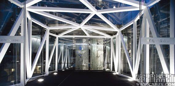 入口钢结构廊桥-样板房,样板间,装饰,装潢,装修样板房